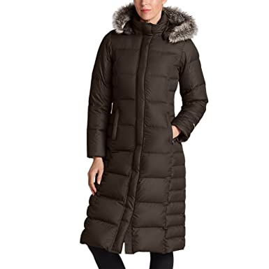 Eddie Bauer Women's Lodge Down Duffle Coat at Amazon Women's Coats ...