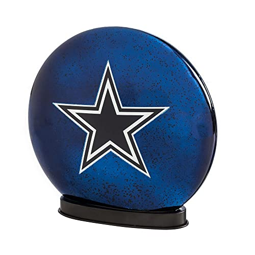 Team Sports America NFL LED Glass Disk Indoor Light - Dallas Cowboys Christmas Decorations: Amazon.com