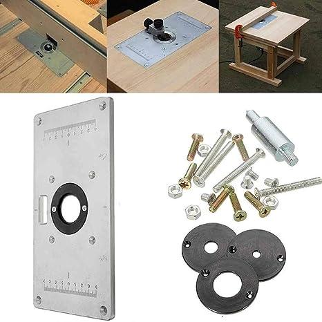 Ohwens Poda Tabla, Aluminio Mesa de Fresadora Inserción ...