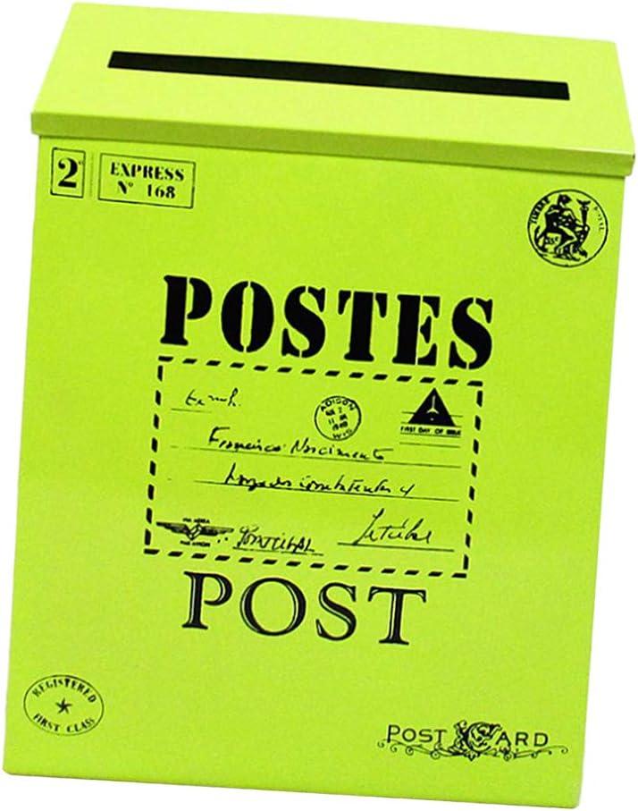 Caja de Soporte de Periódico de Buzón Vintage Decoraciones Caseras ...