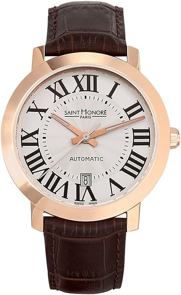 Saint Honoré Reloj Analógico para Hombre de Cuarzo con Correa en Cuero 8970208ARF