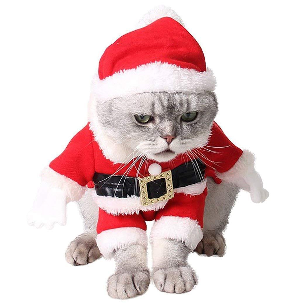 MAN Navidad Ropa para Mascotas,Traje De Gato Perro Lindo ...