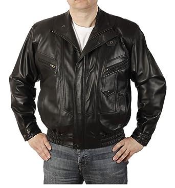 Homme En Veste Cuir Vêtements Coupe Style Ample Blouson H6E7xwpq