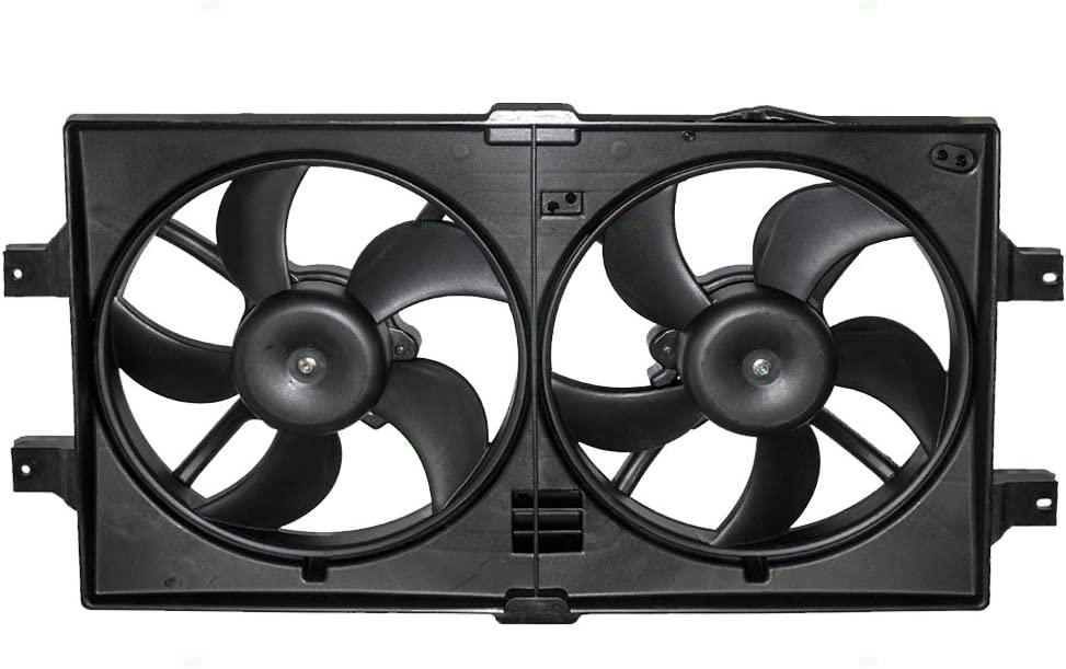 Radiator Cooling Fan Assembly Replacement for Dodge Chrysler 5072180AB