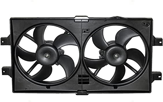 Radiator Cooling Fan Assembly Replacement for Dodge Chrysler Plymouth Van 4644367
