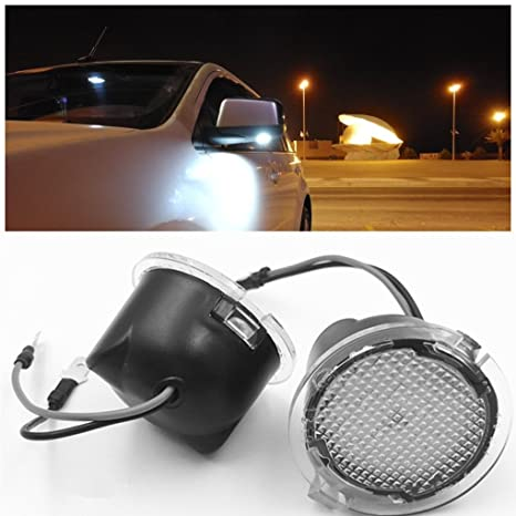 Ironsky X For Ford Led Side Mirror Puddle Light F  Under Mirror Light For