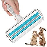 Pet Hair Remover, Animal Fur & Bust Roller Removal Tool for Sofa, Bed, Self-cleaning Lint Roller, Non-slip Handle