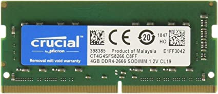 4GB DDR4 2666MHz PC4-21300 SODIMM 260 pin Laptop Memory RAM 4G 2666