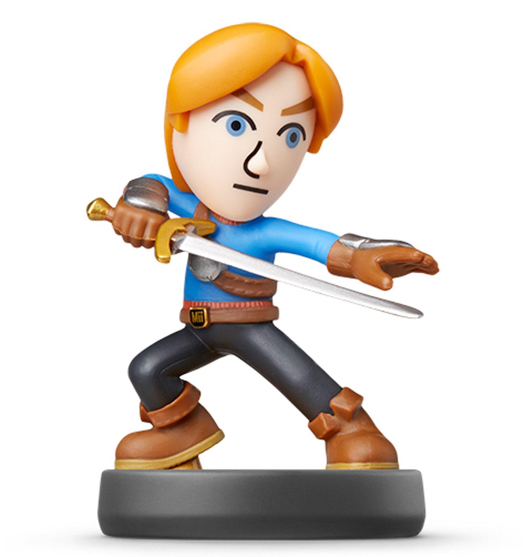 Nintendo Mii Swordfighter Amiibo (Super Smash Bros. Series) For Wii U
