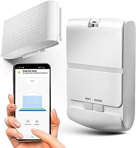 Home Zone Security Smart Garage Door Opener - 2.4GHz Wireless Remote APP Control Enabling Garage Controller (for Sectional Garage Door Systems)