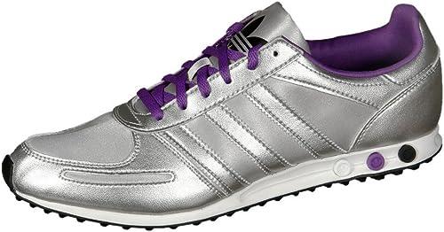 Adidas Originals LA Trainer Sleek Chaussures de sport pour femme Argentéviolet