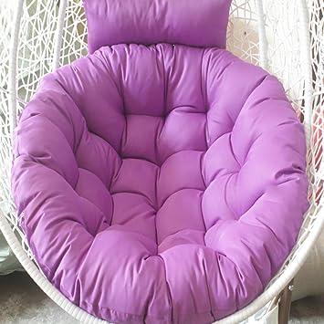 Amazon.com: Cojín para silla de columpio de Tina, redondo ...