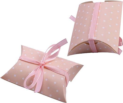 20/50pcs Caja Cajita para Regalos de Bombones Caramelos Modelo de ...