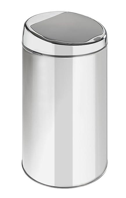 Wenko Cubo de Basura 22446100 con Sensor de Movimiento, Capacidad de 6 litros, de