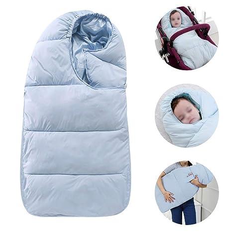 Saco de dormir para bebés Impermeable extra suave de invierno Espesar Algodón Recién nacido Bebé niño