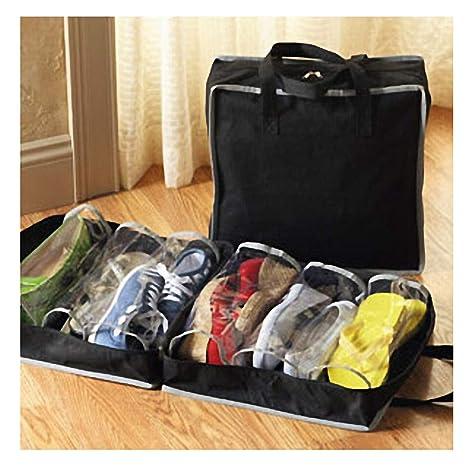 Shoe Tote Zapatero de Viaje Organizador para llevar Zapatos ...