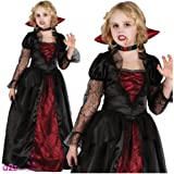 Wicked Vampire Princess - Girls Halloween Costume 8-10 Years