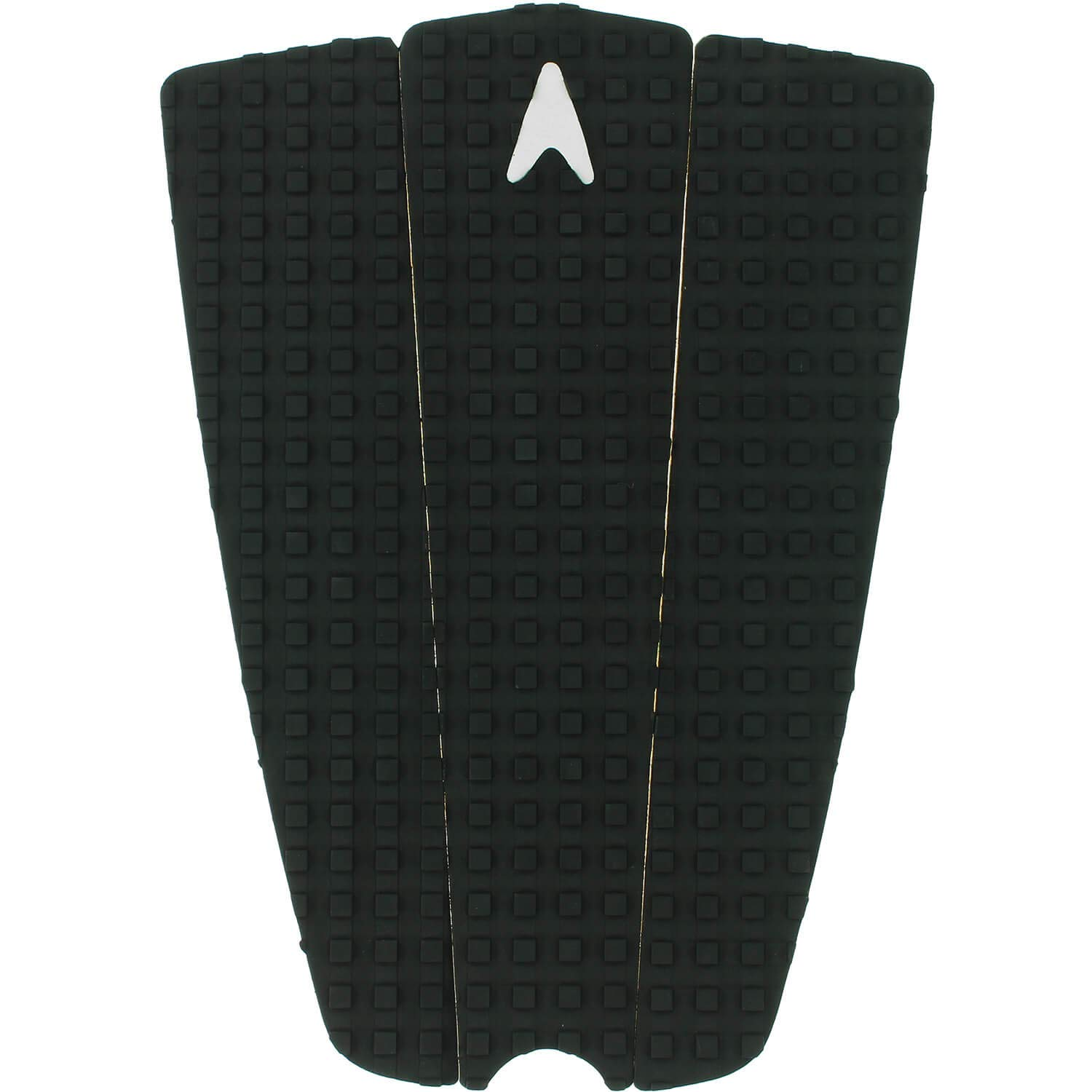 Astrodeck 358 Black Longboard Tail Traction Pad by Astrodeck