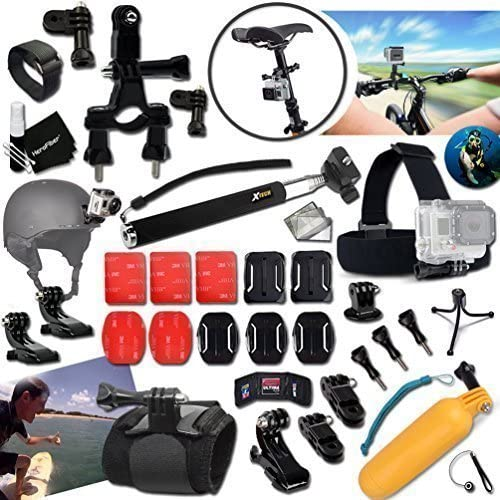 Xtech ACCESSORIES Kit Bundle for HERO4 HERO 4 3 3 2 1
