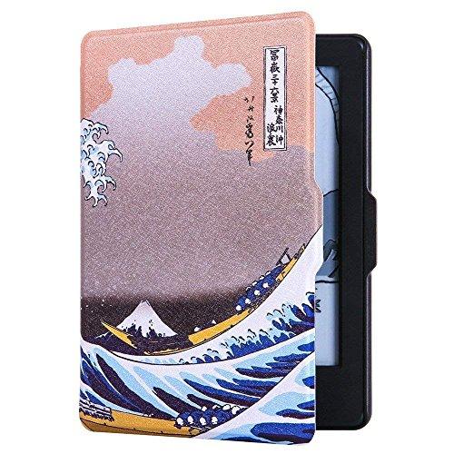Amazon.com: Huasiru Painting Case for Amazon Kindle Voyage Cover with Auto Sleep/Wake, Surf: Computers & Accessories