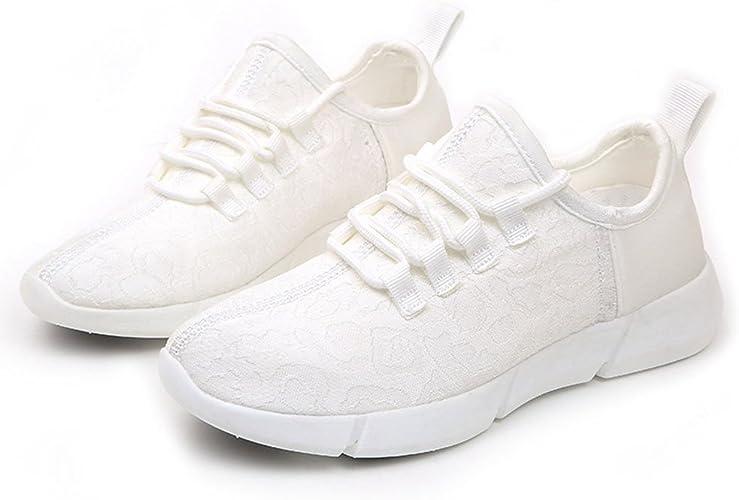 Running Shoes Zapatillas de Deporte Sneaker Blancas Zapatos de ...