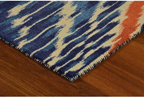 Rugsmith Crown Ikat Bohemian Area Rug