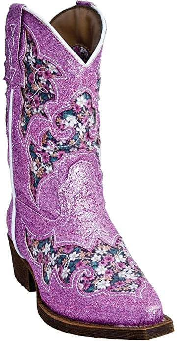 custom fashionable and attractive package 2019 wholesale price Laredo Girl's Snip Toe Cowgirl Boot
