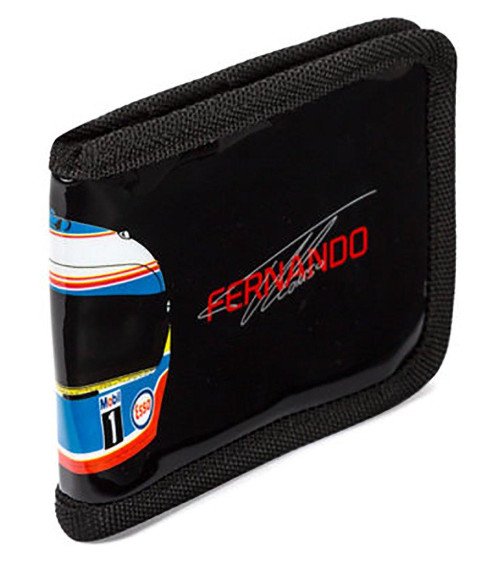 Negro Color 33x26x22 McLaren Honda Fernando Alonso Wallet Talla