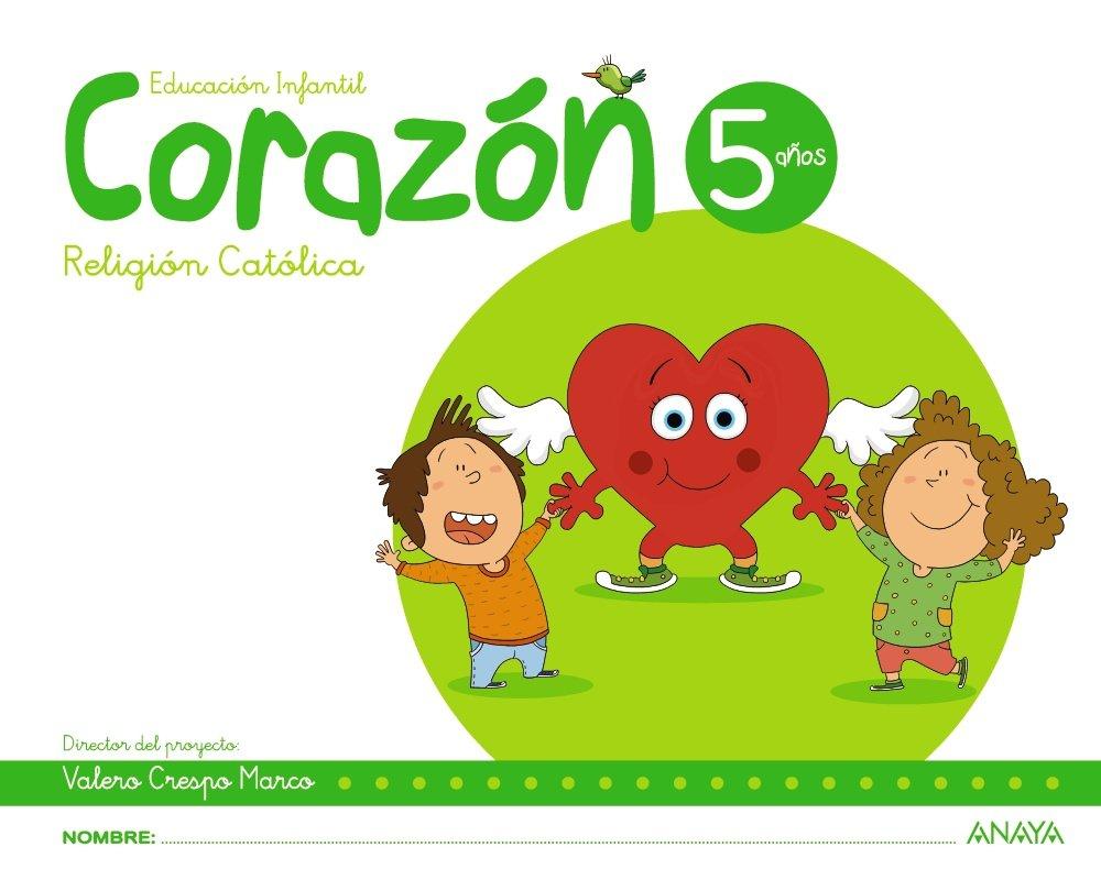Corazón 5 años. - 9788469829288: Amazon.es: Valero Crespo Marco, Mª ...