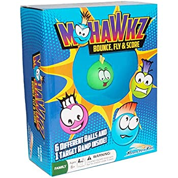 Mohawkz Family Board Game - Fun Ball Toy for All Ages, Kids and Adults 8 Years and Up