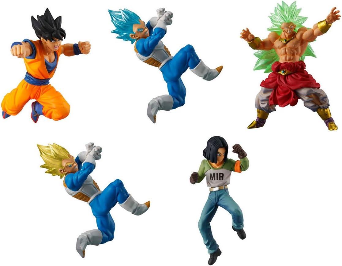 Dragon Ball super bath Lee HG Series All 5 set Gashapon mascot toys Complete set