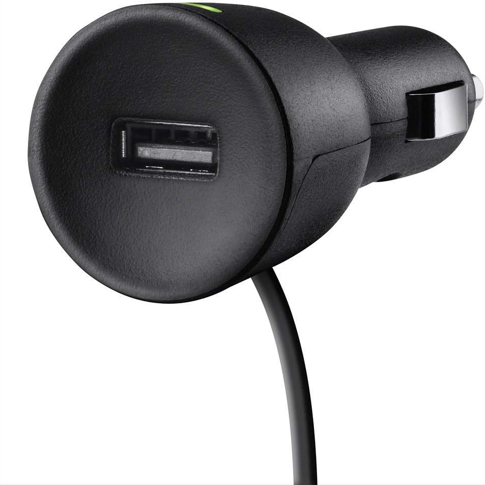 Belkin TuneCast Auto Universal FM Transmitter Aux W// ClearScan F8Z439-P Black
