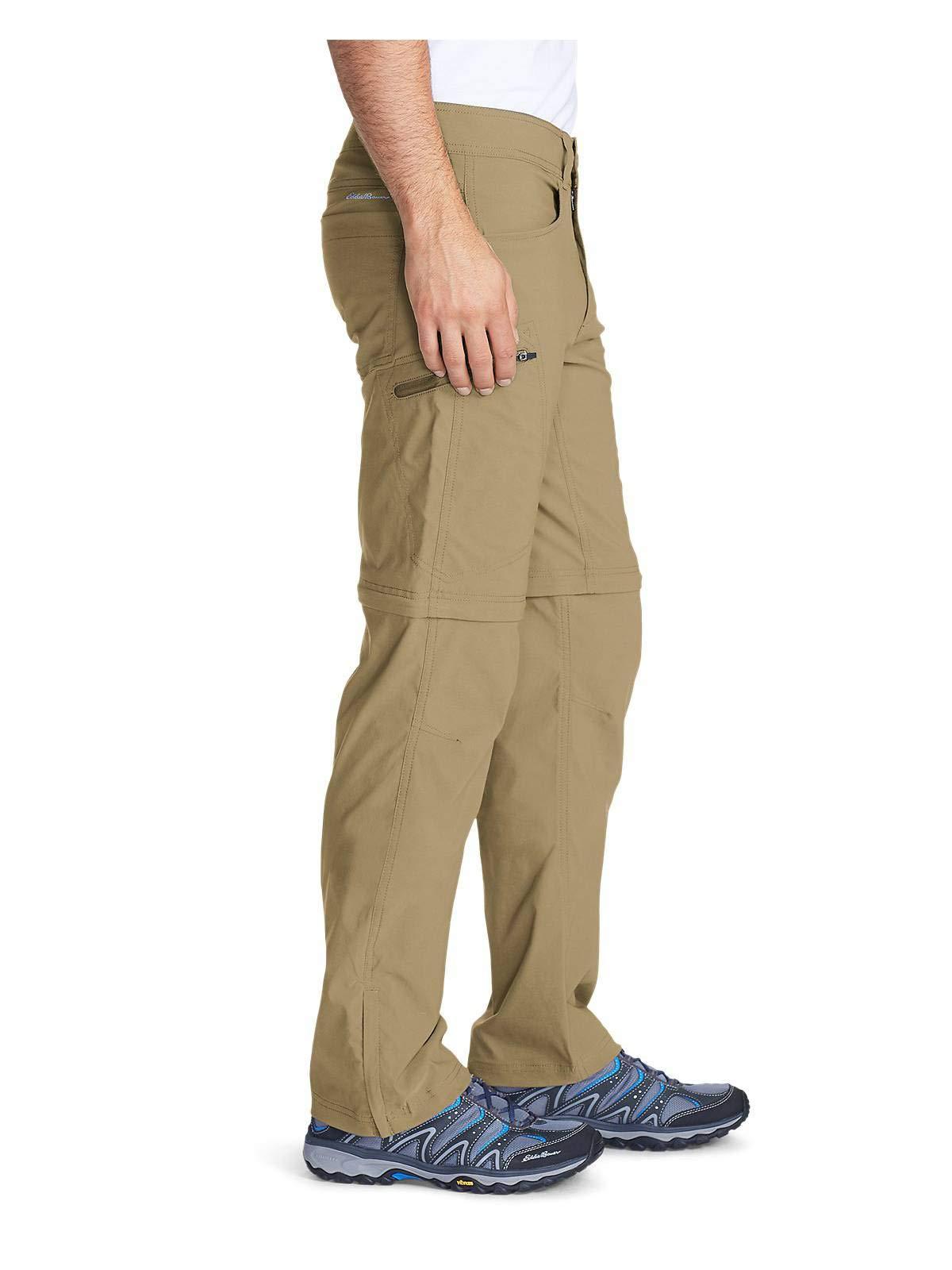 Eddie Bauer Men's Guide Pro Convertible Pants, Saddle Regular 32/30 by Eddie Bauer (Image #3)