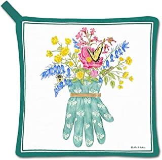 product image for Alice's Cottage Floral Cotton Pot Holder, Garden Glove