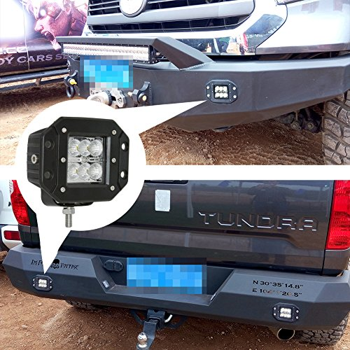 JAHURD-LED-Car-Lights-Spot-Flood-Beam-Driving-Fog-Lights-Bar-bottom-adjustable-Bracket-Waterproof-Work-for-Off-Road-SUV-4X4-Cars-Jeep-Boat-Outdoor