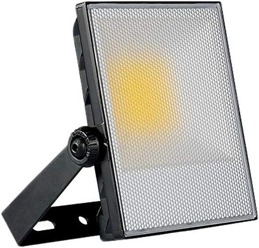 Q-fo Proyector LED Al Aire Libre, A Prueba Agua Lámpara De ...