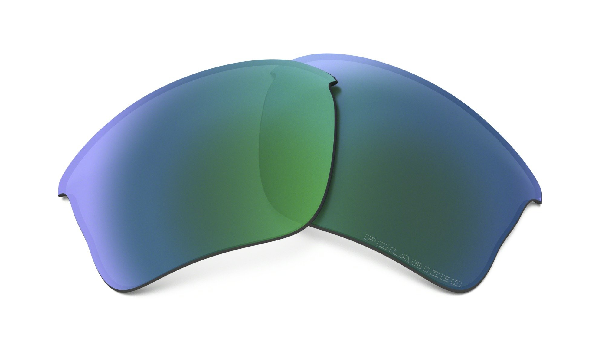 Oakley Flak Jacket XLJ Replacement Lenses Jade Iridium Polarized