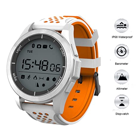 RENYAYA Reloj Inteligente Bluetooth 4,0 IP68 Impermeable ...