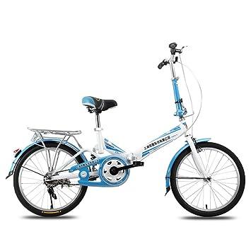 XQ F300 Bicicleta Plegable para Adultos De 20 Pulgadas Ultraligero Portátil para Niños De La Bicicleta