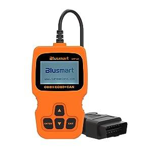Outil de balayage diagnostique automatique de lecteur de code de véhicule de voiture d'OBD MATE OBDII OM123 pour 2000 ou plus tard Véhicule de protocole d'OBD2 des USA, européen et asiatique (orange)