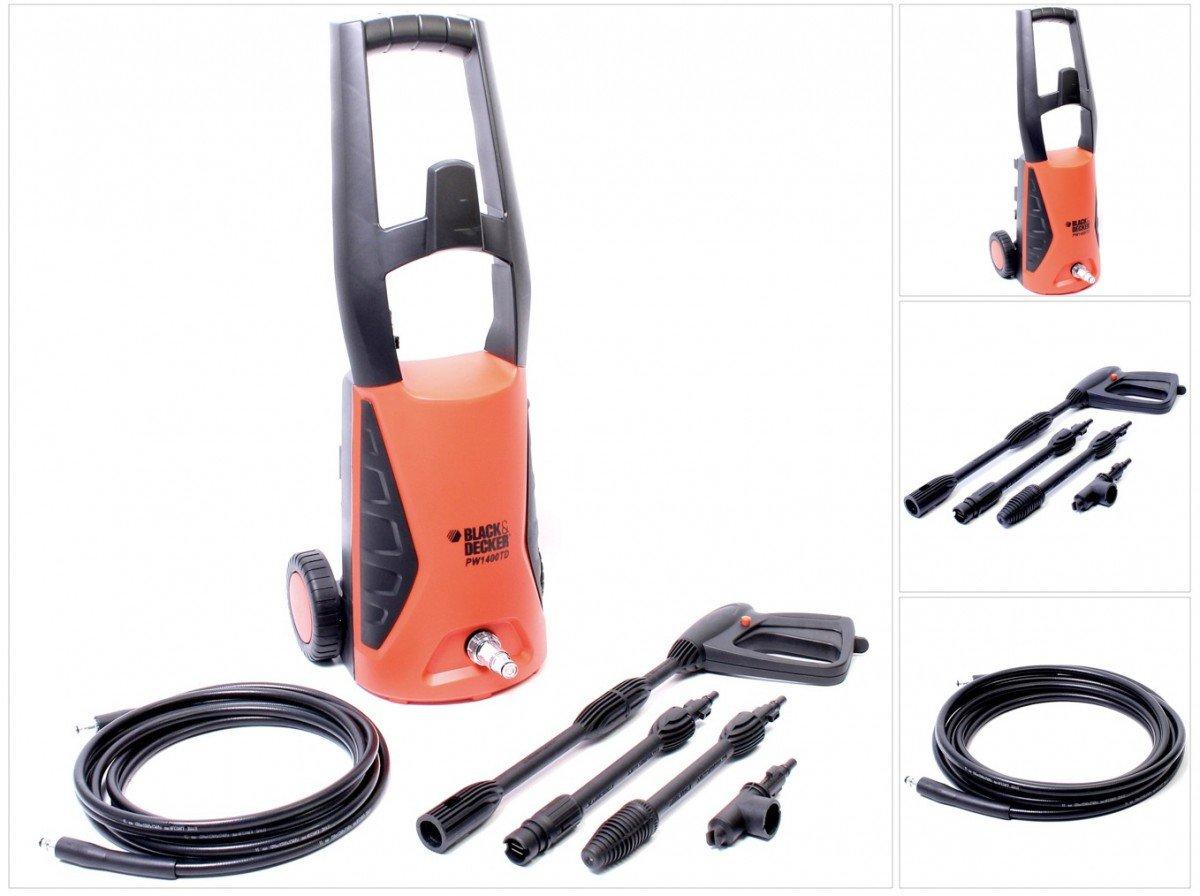 Black/&Decker Nettoyeur haute pression Puissance 1400/W 110/bar lance comprise 370/L//h