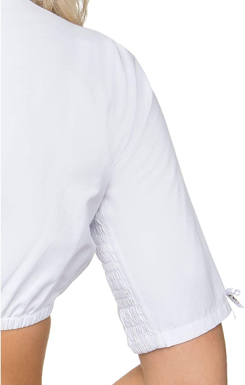 Stockerpoint Dirndl Blouse B8031 White