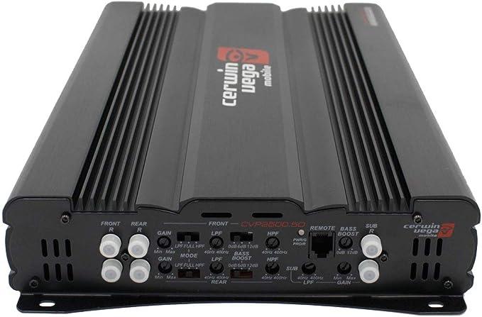 1100W RMS Cerwin Vega CVP2500.5D CVP Series 5-Channel Class-D Amplifier Free LAB Sticker