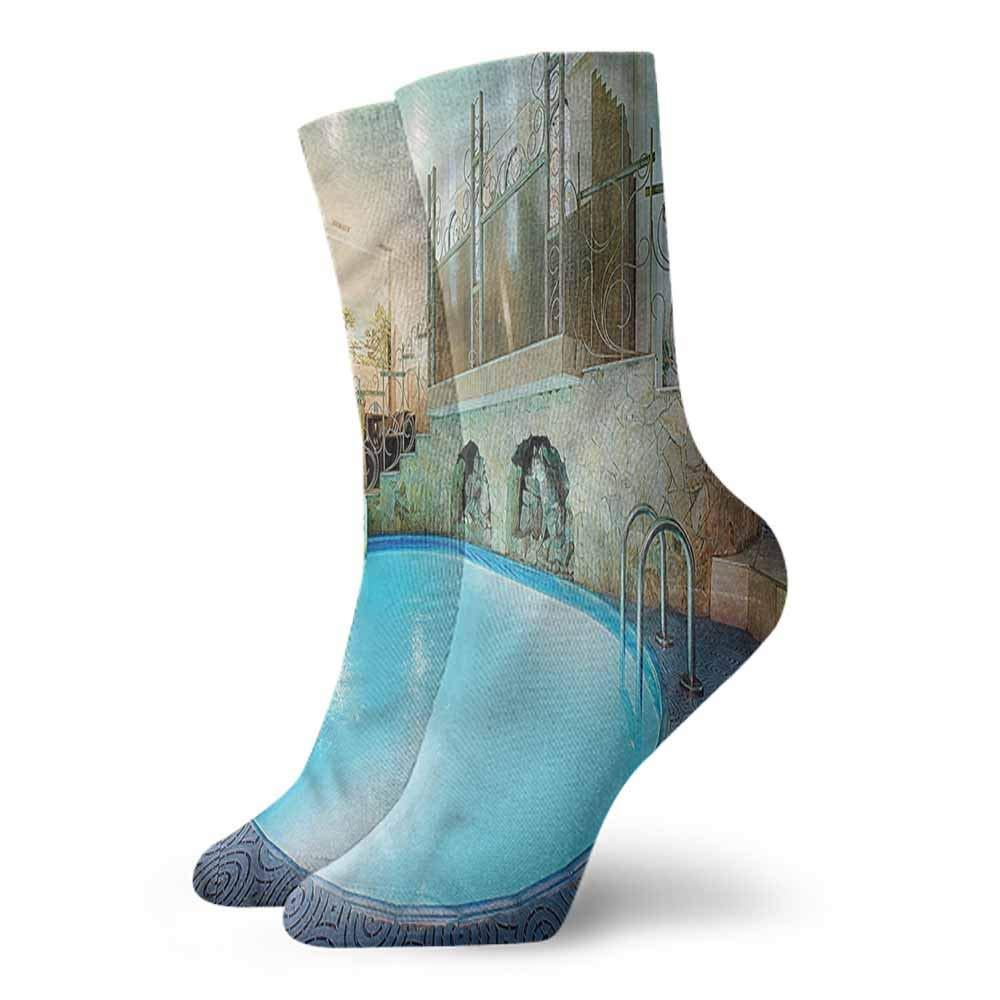 Funny Socks For Female Sox Modern,Simple Circles Lattice Style,socks men pack