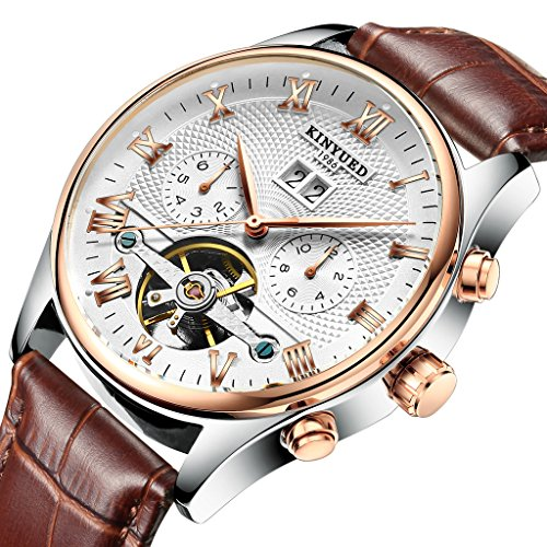 TIDOO Townsman Automatic Leather Watch (Swiss Watch Movement)