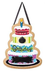 Happy Birthday Door Hanger