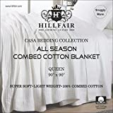 HILLFAIR 100% Soft Premium Combed Cotton Thermal