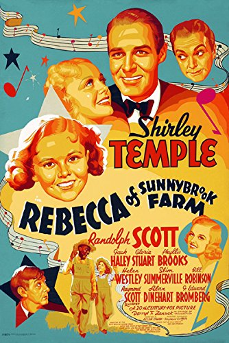 (Shirley Temple Rebecca of Sunnybrook Farm Poster Replica 13 X 19