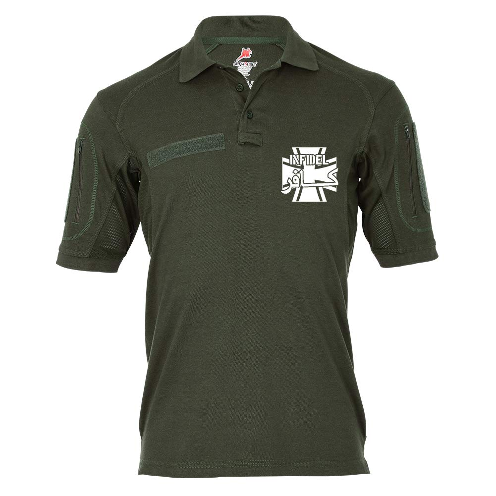 Copytec Tactical Poloshirt Alfa - Infidel Krieger ISAF BW Ungläubiger  19168