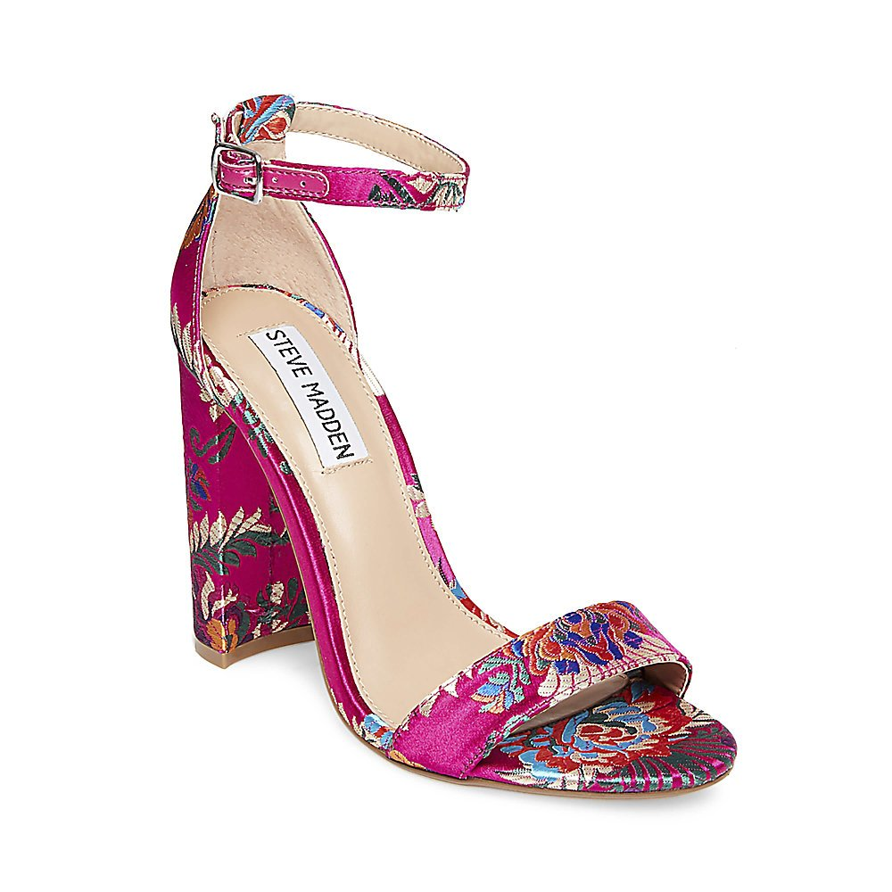 Steve Madden Women's Carrson Dress Sandal B075SNPV6V 8.5 B(M) US|Magenta